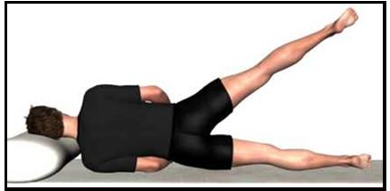 abducción de cadera lateral